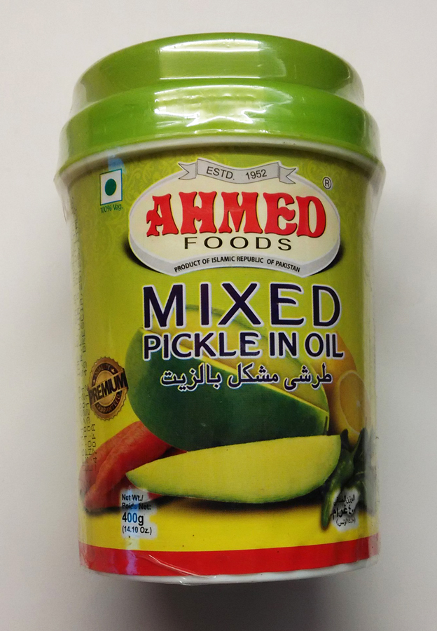 Mixed pickle Ahmed