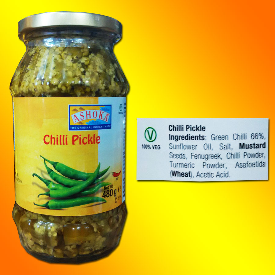 Chilli pickle Ashoka